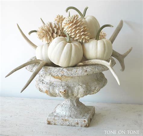 white pumpkin decorations tone on tone white fall decor and new arrivals