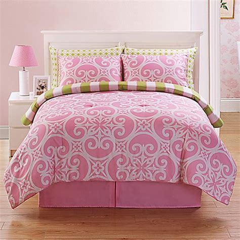 kennedy reversible comforter set buybuy baby