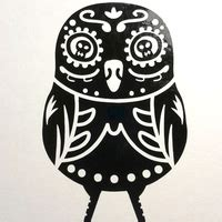Stiker Pengiriman Onlineshop Owl digger owl 183 safety bunny s decal shop 183 store powered by storenvy