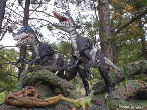 libro primeval and other times primeval deinonychus by carnosaur on