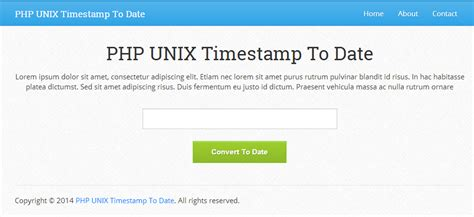 convert date format php to another perl convert unix timestamp to date