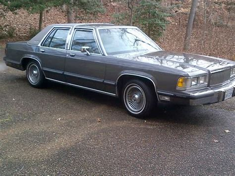 how to sell used cars 1989 mercury grand marquis electronic valve timing buy used 1989 grey grand marquis ls 1 owner exceptional always garaged gem in williamsburg