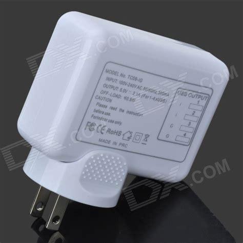 Travel Charger Lenovo 5v White white usb travel charger with eu us uk au