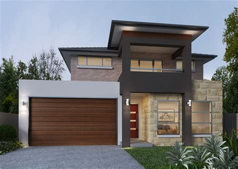 2 storey houses designs small double storey house plans with garage best house