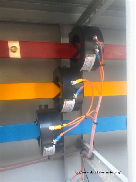 current transformer connection to meter diagram current transformer installation for three phase power