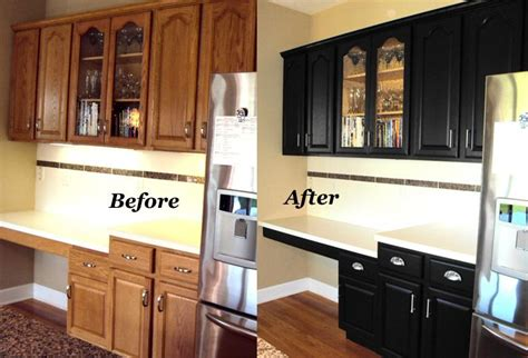 refinishing oak kitchen cabinets before and after cabinet refinishing before and after before and after