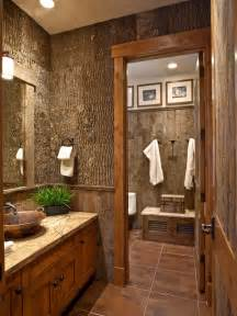 Bathroom wall bark siding bark decor nature theme natural bath
