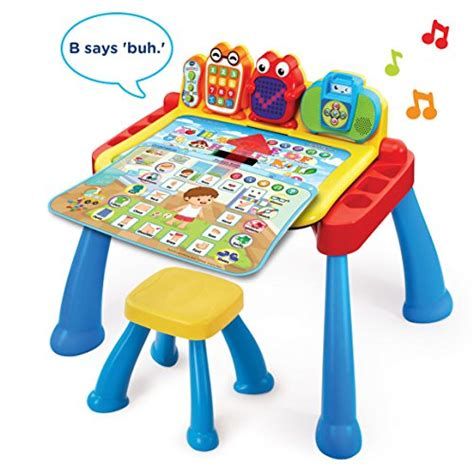vtech touch and learn desk vtech touch and learn activity desk deluxe import it all
