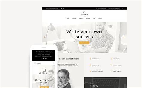 wordpress themes publishing house house press publishing company 63528 by zemez
