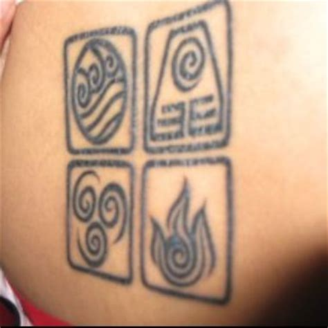 avatar last airbender tattoo avatar the last airbender if i could get tattoos