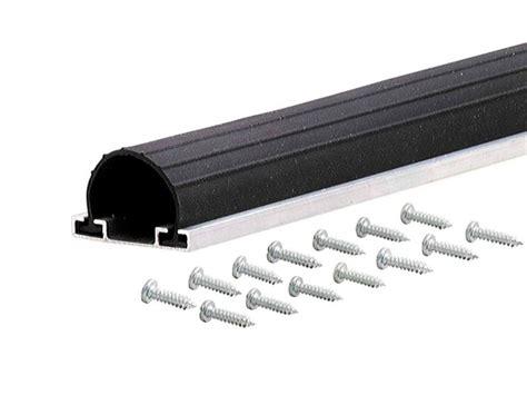 Garage Door Rubber Bottom Universal Aluminum Rubber Garage Door Bottom 18 M D Building Products Inc