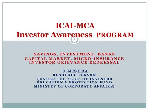 Mba In Investment Banking And Capital Markets by Savings Investment Banks Capital Market