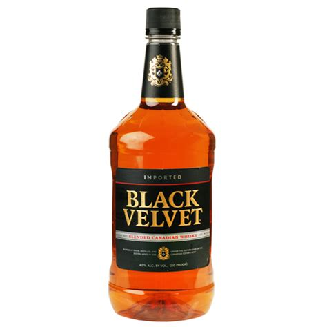 black velvet wine black velvet blended canadian whisky 1 75l crown wine