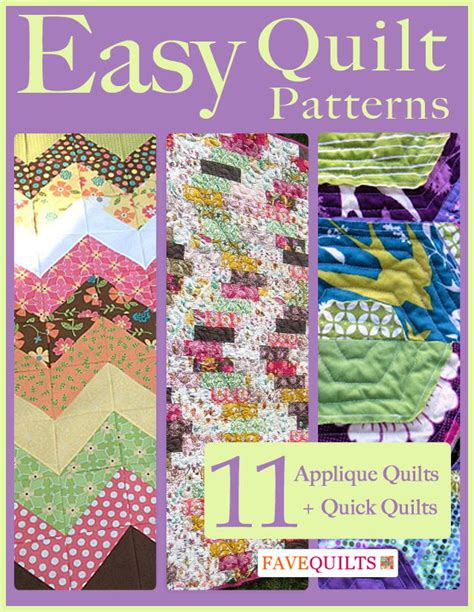 Free Quilting Ebooks by Easy Quilt Patterns 11 Applique Quilt Patterns