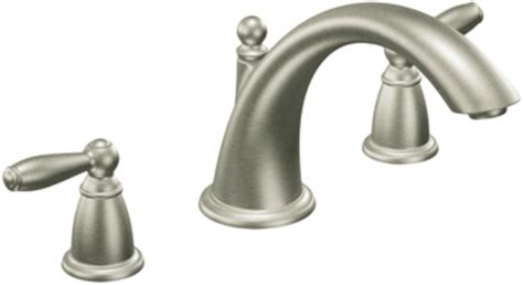 Moen Brantford Faucet Brushed Nickel by Moen T933bn Brantford Brushed Nickel Tub Faucet Trim
