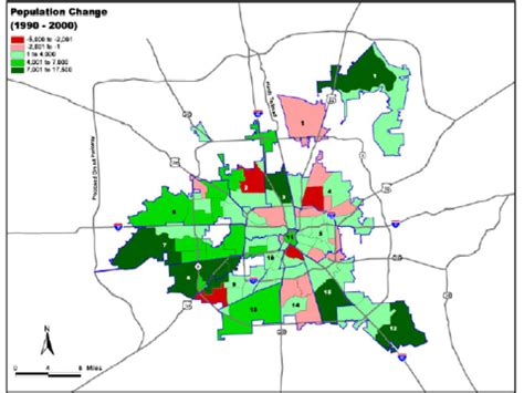 houston density map city of houston population maps data links 171 west