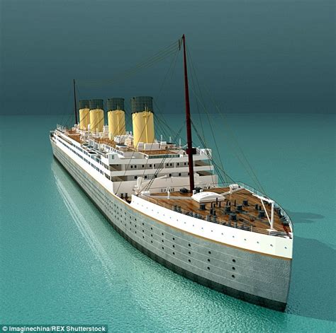 titanic toy boat uk titanic replica being built by chinese company in sichuan