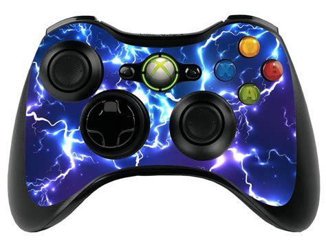 l xbox 360 controller blue electric xbox 360 remote controller gamepad skin cover vinyl xbr22 ebay