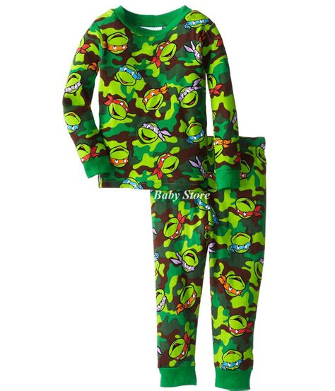 new arrival turtles pajamas for boy