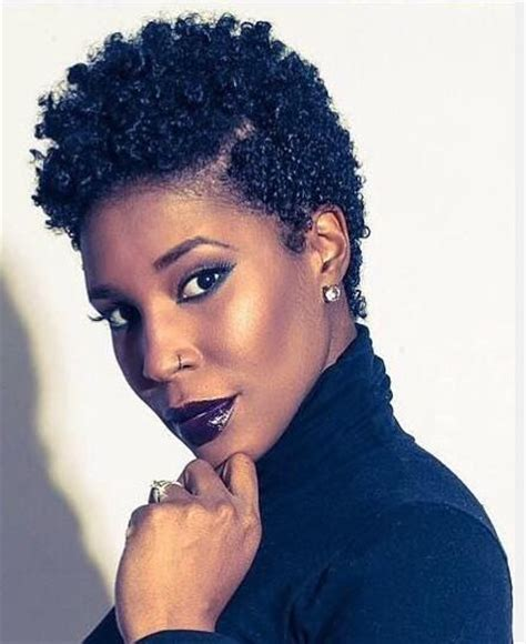 70 majestic short natural hairstyles for women
