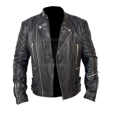 black leather motorcycle jacket brando mens motorcycle biker black genuine leather jacket