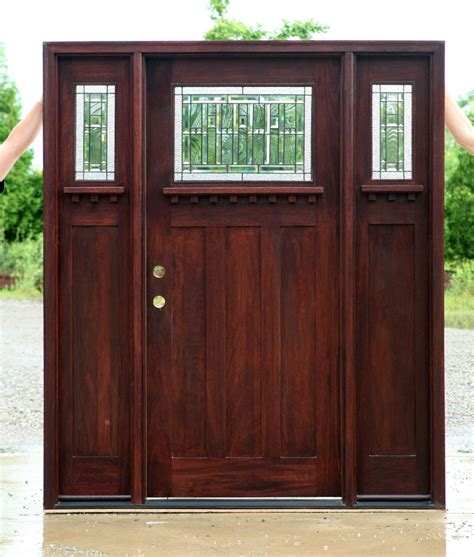Wooden Shutters Interior Home Depot craftsman doors craftsman style doors with sidelights