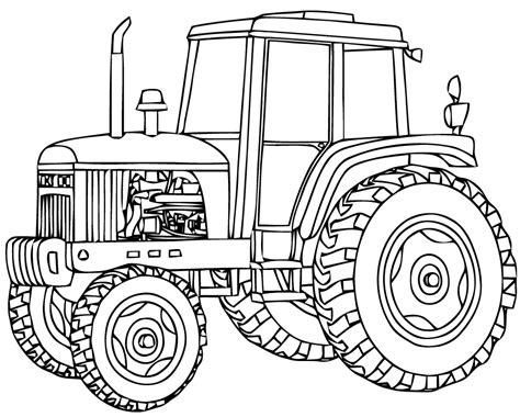 Dessin Tracteur Pelle S Dessin Coloriage Tracteur Avec RemorqueL
