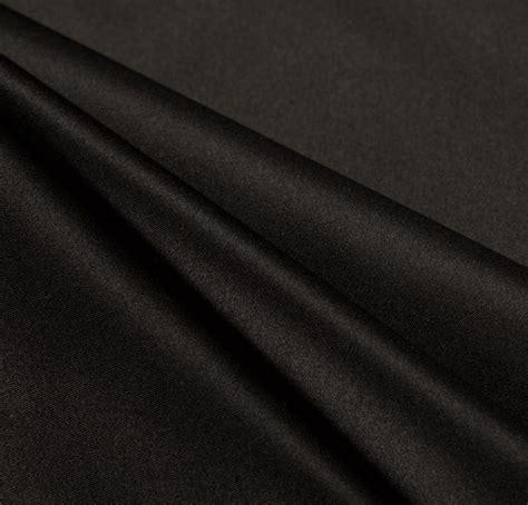 Satin Bridal Duches Meter duchess silk satin black fabric