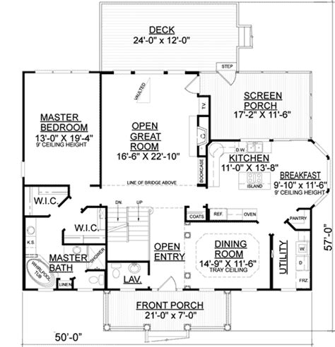 Low Country Floor Plans by Spacious Low Country House Plan 9194gu Architectural