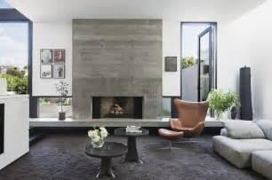 Modernes Wohnzimmer Braun Wohnzimmer In Orange Braun Und Teakholz Raum Und