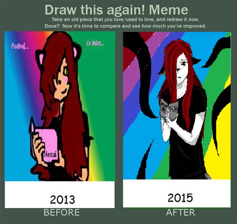 Draw This Again Meme Fail - draw this again meme by ritadrowned on deviantart