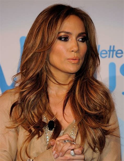 hairstyles for long hair jennifer lopez jennifer lopez hairstyles long layered hairstyle