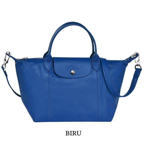 Tas Biru Shoulder Bag Bahu Pundak Tenteng Tangan Besar Tali Korea Cewe tas branded wanita authentic longch le pliage cuir small original with elevenia