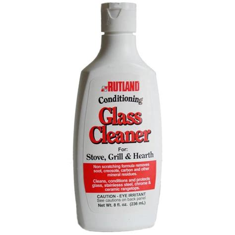 rutland 84 hearth grill conditioning glass cleaner 8 oz