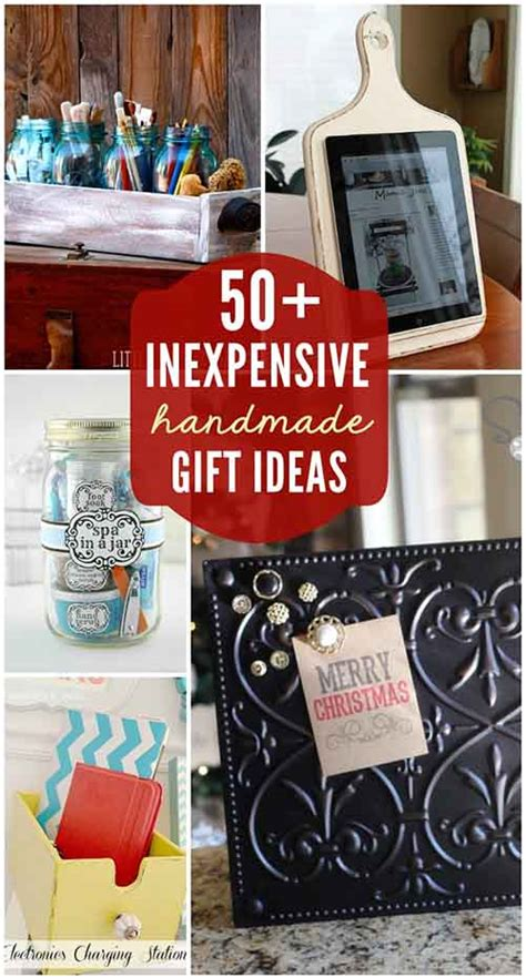 Inexpensive Handmade Gift Ideas - 50 inexpensive diy gift ideas for any occasion