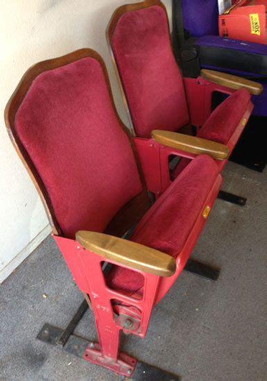repurposed theater seats images  pinterest