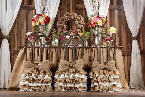 Burlap wedding decor ideas. Hobby lobby photo   Wedding