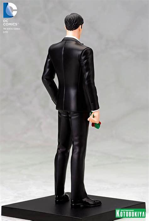 Sale Kotobukiya Sdcc 2016 Exclusive Clark Kent Artfx Statue toyzmag 187 sdcc2016 bruce wayne artfx exclu kotobukiya