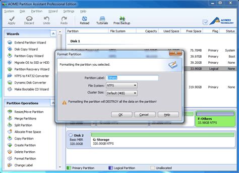 format hard disk and remove partition guidelines on how to partition a hard drive create