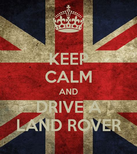 Kaost Shirt Keep Calm And Drive A Land Rover Car Logo keep calm and drive a land rover keep calm and carry on image generator