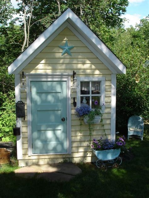 cool backyard sheds 10 cool garden potting sheds shelterness