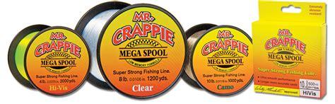 mr crappie fishing line mr crappie 174 monofllament fishing line