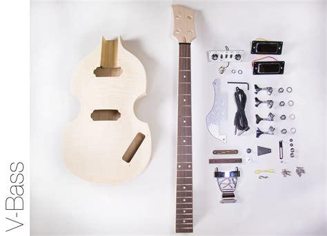 diy kit diy electric bass guitar kit violin bass build your own