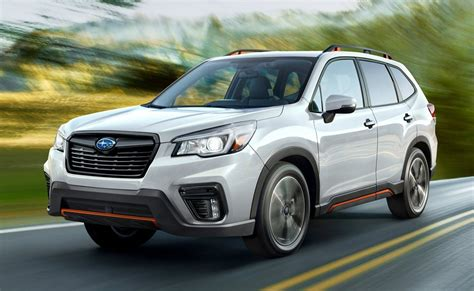 subaru forester 2019 2019 subaru forester arrives with tons of features