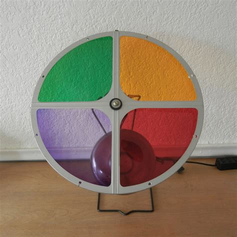 vintage color wheel for aluminum christmas tree by penetray