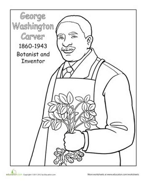 george washington coloring page crayola com how to draw george washington carver cartoon adultcartoon co