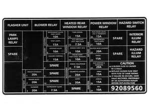 vx acclaim series 2 fuse relay diagram just commodores
