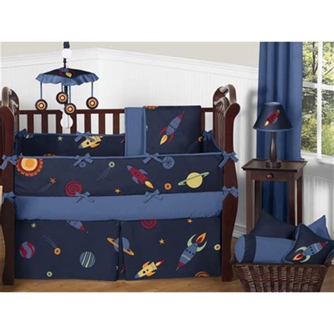 space crib bedding space galaxy crib bedding collection