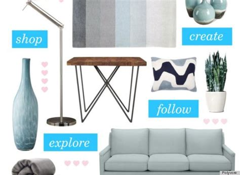 polyvore expands past fashion and to home design
