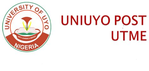 post utme tutorial uniuyo post utme application screening 2017 18 dates and